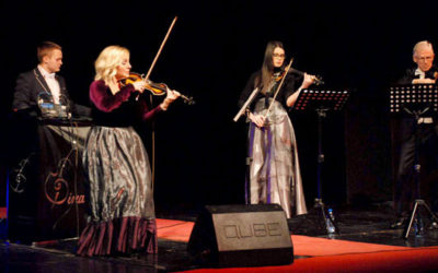 """Gudački električni kvartet """"Dinamika music"""" sinoć oduševio zaječarsku publiku"""
